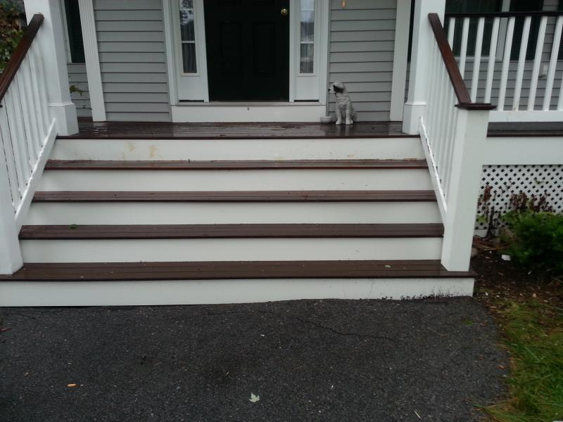 NH Porch Repairs with PVC